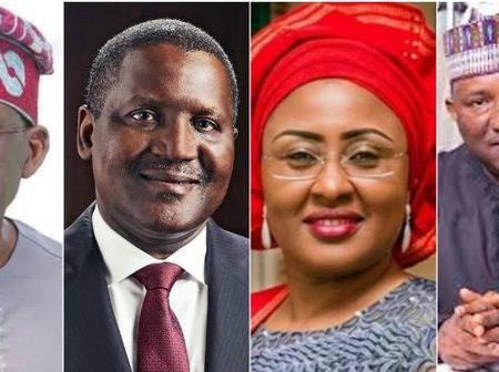 Checkout How Much Tinubu, Dangote, Alakija, Others Donated at Aisha Buhari's Book Launch