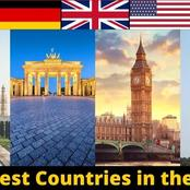 1 African Country Made It To The List Of Top 20 Richest Countries In The World. Check If It's Yours
