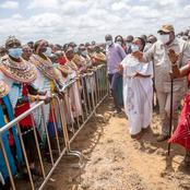 President Kenyatta Is In A One Day Tour Of Samburu County To Launch Development Projects