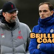 Thomas Tuchel Is A Brilliant Coach, See Chelsea's Stats Vs Liverpool That Proved Him To Be Great