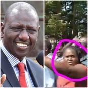 Woman Steals The Show in Mumias During DP William Ruto's Visit(Photos/Videos)