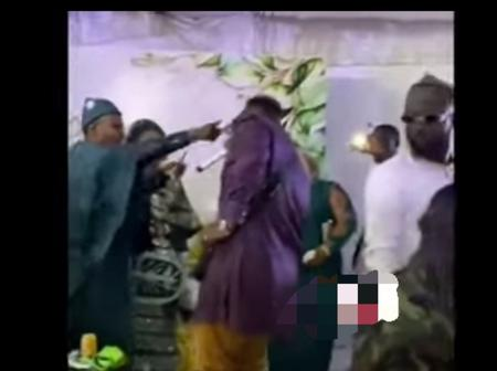 Medikal surprises an Army Officer at his Wedding