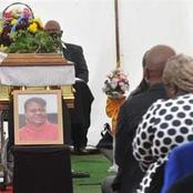 A beautiful send-off for actress Lindiwe Ndlovu, See pictures of her coffin and funeral.