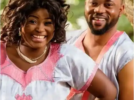 Meet Nollywood Couple Damola Olatunji And His Wife Bukola Awoyemi's Lovely Set Of Twins