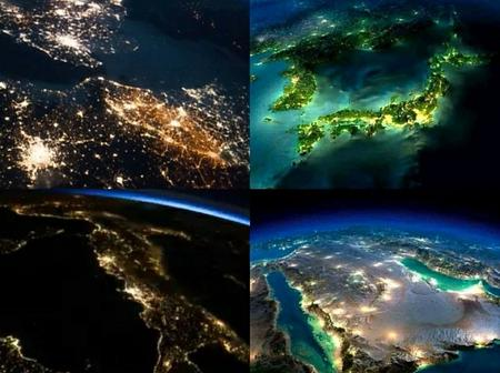 The earth is really beautiful from up there. Check out beautiful pictures of earth taken from space.