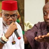 Kanu Blasts Uwazuruike For Criticizing IPOB's Security Outfit, ESN - Read What He Said
