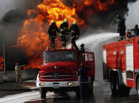 Fire Outbreak In Nigeria Immigration Service Headquarter, In Abuja