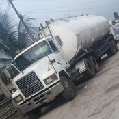 Nigerian Army Seize Tanker Loaded With Adulterated Product In Port Harcourt Township Area