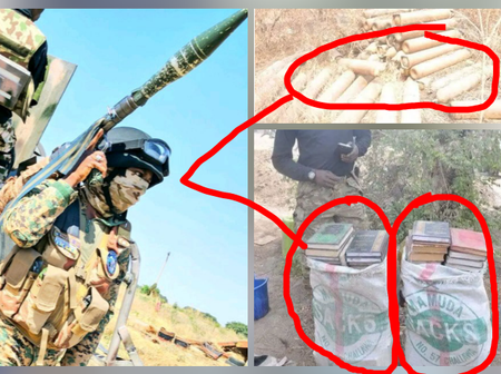 In Honour Of The Nigerian Fallen Heroes, See What The Nigerian Army Recovered From Boko Haram