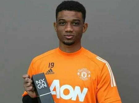 Manchester United Youngster Wins International Award