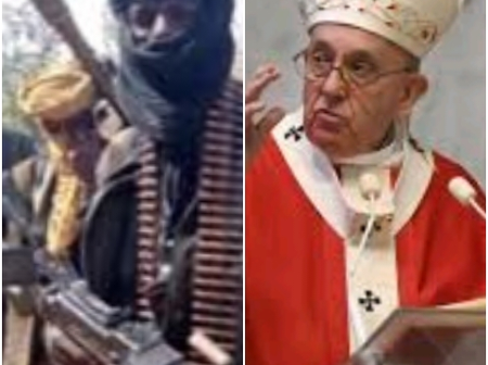 Today's Headlines: Pope Francis appoints Nigerian Bishop, Bandits attack army Camp in Niger State