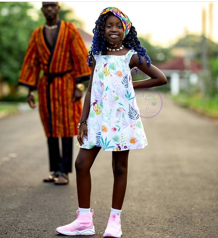 dca419aa33b69348063d3a4197a5627a?quality=uhq&resize=720 - Meet Sante Nsiah-Apau, The Cute Daughter Of Okyeame Kwame Who Is The Youngest Entrepreneur In Ghana