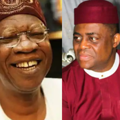 Check What Lai Mohammed Said About Bandits And Soldiers That Made FFK Laugh