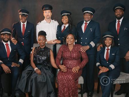 Meet Nigerian Family Of Pilots All Married To Pilots