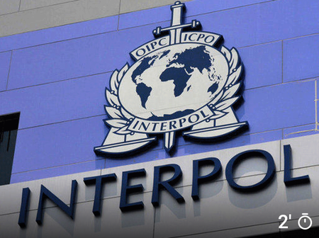 International police known as interpol smashes cybercrime gang linked to scams in 150 countries,