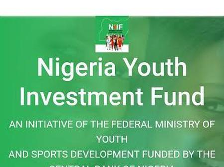 The Nigerian Youth Investment Fund Commences Disbursements In Two Weeks Time For Batch C Applicants.