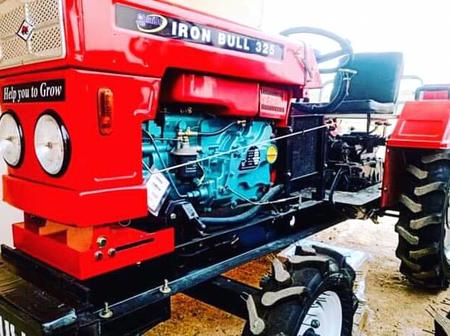 Young Nigerian Engineer Develops A Tractor To Ease Farming