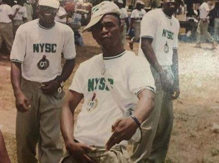 Throwback Photos Of 5 Nigerian Celebrities During Their NYSC