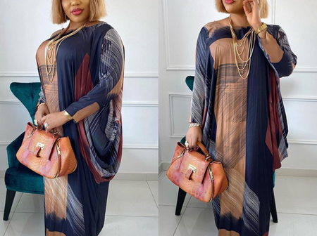 20+ Colourful Boubou Gown Styles for Classy Ladies