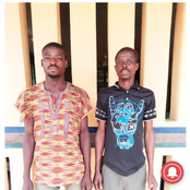 Police Arrest 2 In Ogun state For Allegedly Gang RapingTheir Neighbor's Daughter.