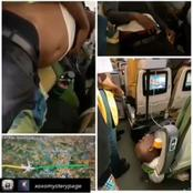 2 Nigerian Man Died On Plane After Drugs They Swallowed Burst In their Stomachs (video)
