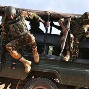 Dramatic Scenes as a KDF Soldier Throws a Grenade Inside His Lovers House After a Divorce