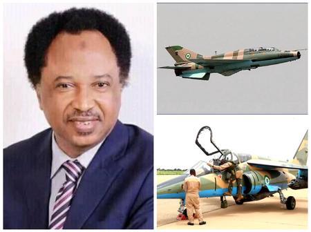 Senator Shehu reacts to Airforce missing jet, says