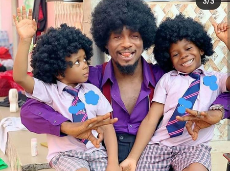 Meet The 3 Sons Of Nollywood Actor Junior Pope