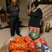 Look How Women Was Attacked By Donating Food To The Zuma Family
