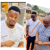 See what fans noticed that Zubby Michael was holding in his hand during prayer session