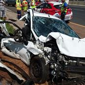 A man deeply thanks God for surviving this horrific accident