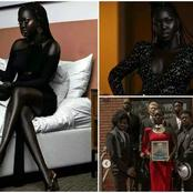 Meet the darkest girl in the world who is called Queen of the dark(photos)