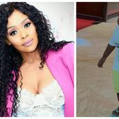 Gomora actress Thembi Seete recently revealed his son's face to the public for the first time.