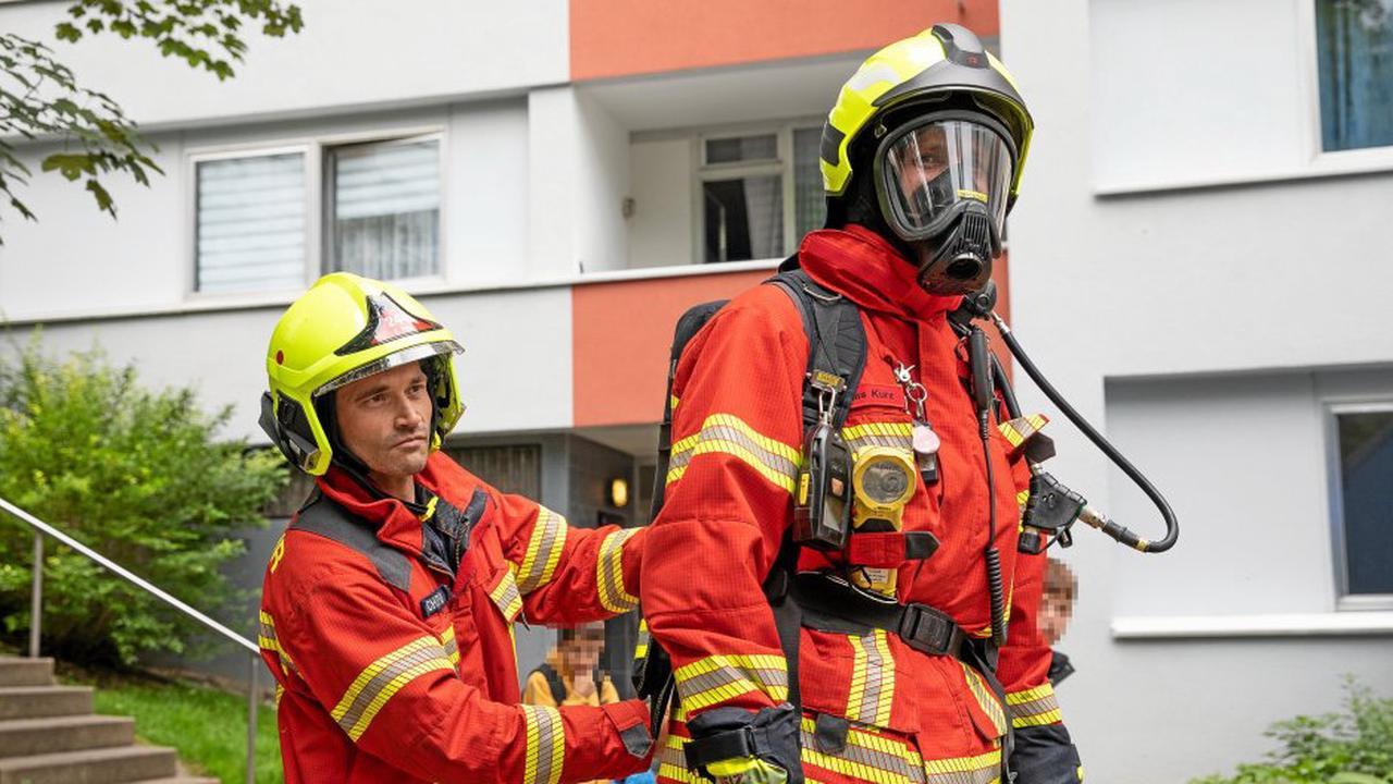 Kreuztal: Essen brennt in leerer Wohnung – Tür aufgebrochen