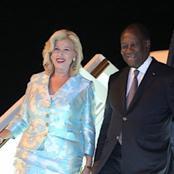 Voici pourquoi le couple Ouattara s'envole pour la france à une semaine des législatives