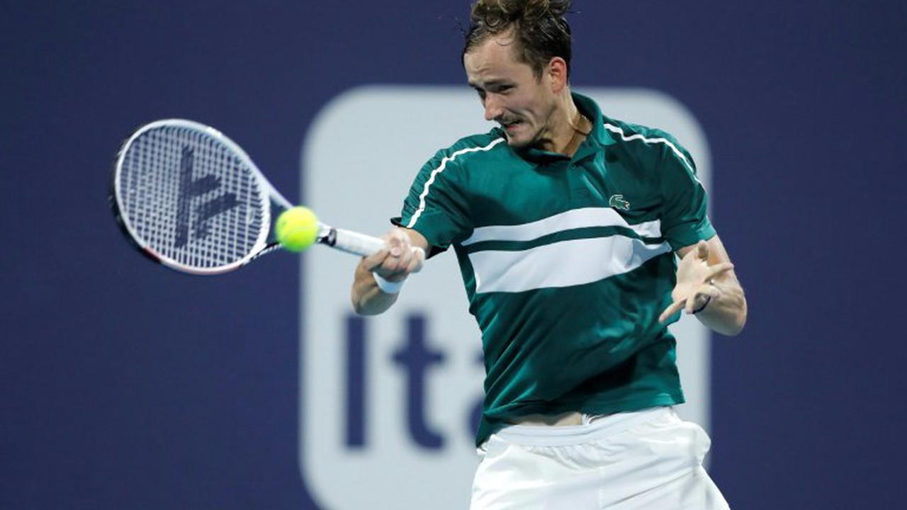 Monte-Carlo: le N.2 mondial Daniil Medvedev, positif au Covid-19, exclu du tournoi