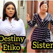Destiny Etiko Has A Beautiful Sister Who Is An Actress, See Photos That Show They Look Alike