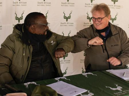 SanParks Take Steps To Help Communities Affected By Covid19 Pandemic