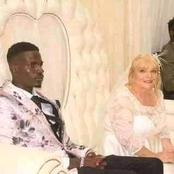 Photos: Is Age Just A Number? Young Man Marries An Older Lady.