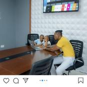 Inside Photos of Diamond Platnmuz's Magnificient Office