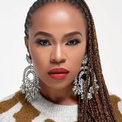 Sindi Dlathu is 46 years old but looks 20 years young see what she uses to keep her skin beautiful