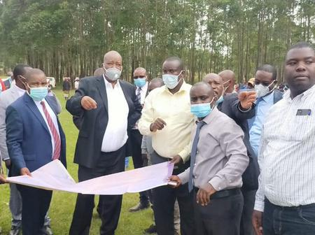 Nyamira County To Have Its First Airport As KAA Officials Visit Proposed Site At Kiendege