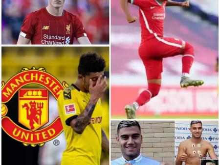 LATEST UPDATE: Man U Warned Off Sancho's Deal, Liverpool Sends Goodbye Message To Rhian And Others