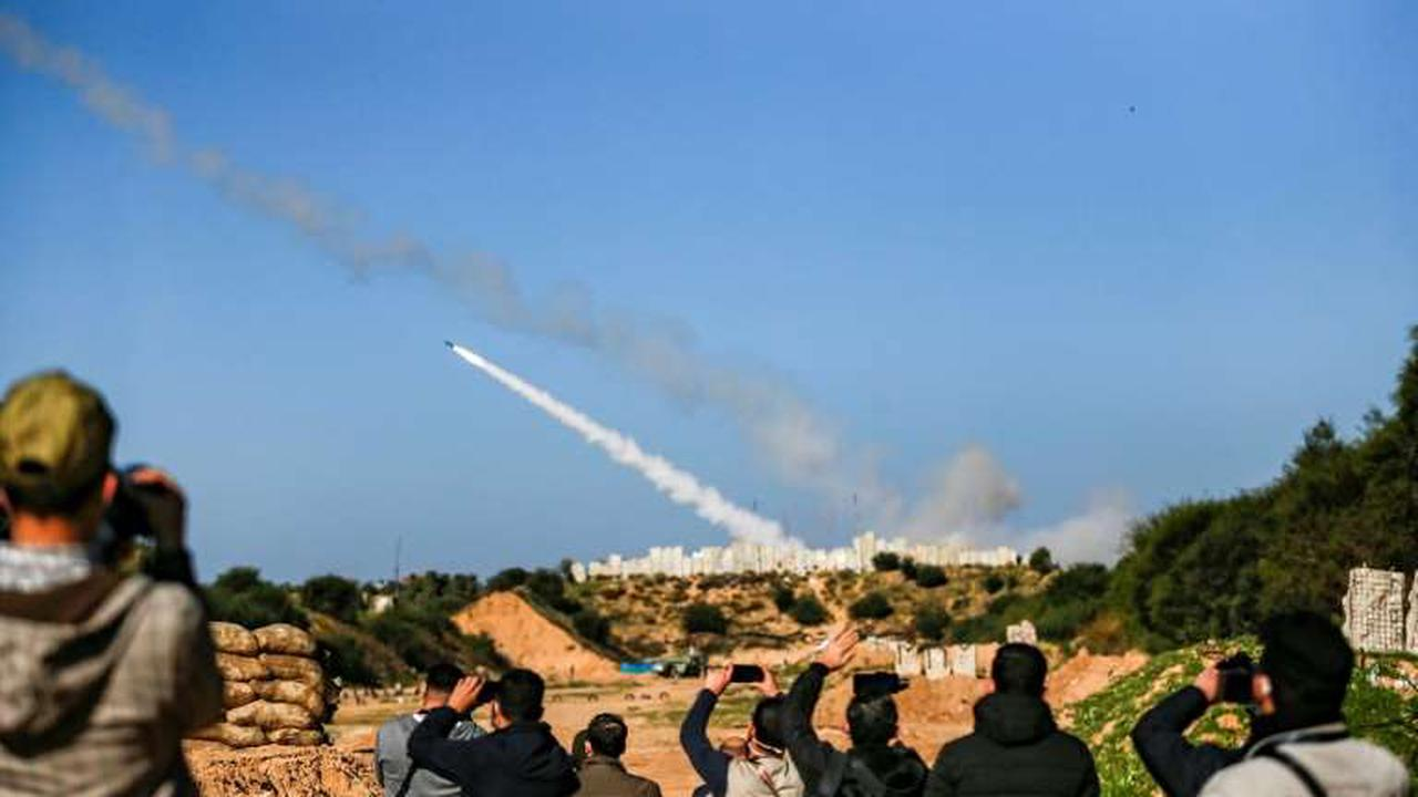 Gaza forces fire rockets to mark Israel conflict anniversary