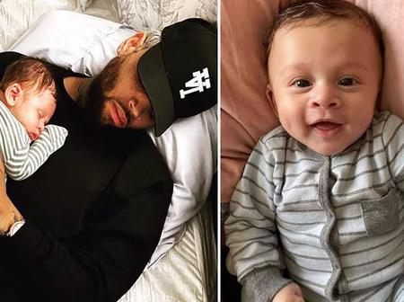 See Beautiful Pictures Of Chris Brown's Son, Aeko