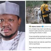 Mixed Reactions As Adamu Garba Condemns The Actions Of Fulani Herdsmen, See What He Said