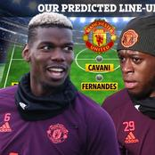 Opinion: Manchester United Strongest Line Up Against Tottenham Hotspurs. Pogba And Cavani To Start