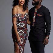 Couples Goal: Inspiring Ankara Outfit For Lovers.