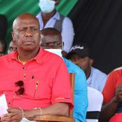 Gideon Moi's Message to President Kenyatta on the EAC Appointment