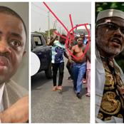 Nnamdi Kanu Reacts Moments After FFK Sent Out Warning Note Over Igboho's Attempted Arrest
